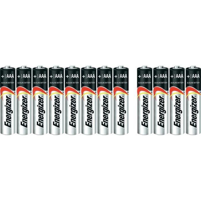 8 piles aaa lr03 alcalines 1 5v energizer ul achat - Pile aaa lr03 ...