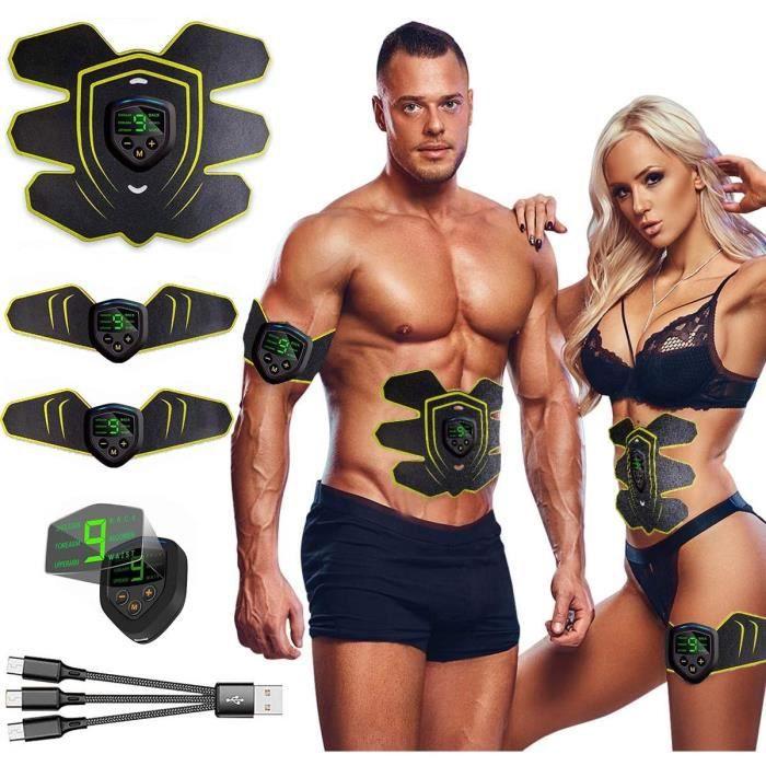 Hommes Femmes Abdominale Hip Muscle Trainer Toner ABS Smart EMS Fitness Gym Entraînement