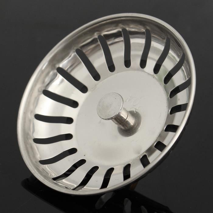 Distinct/® Filtre d/égout dacier Inoxydable Drainer Net de Cuisine Filtre d/égout de Salle de Bains 7cm