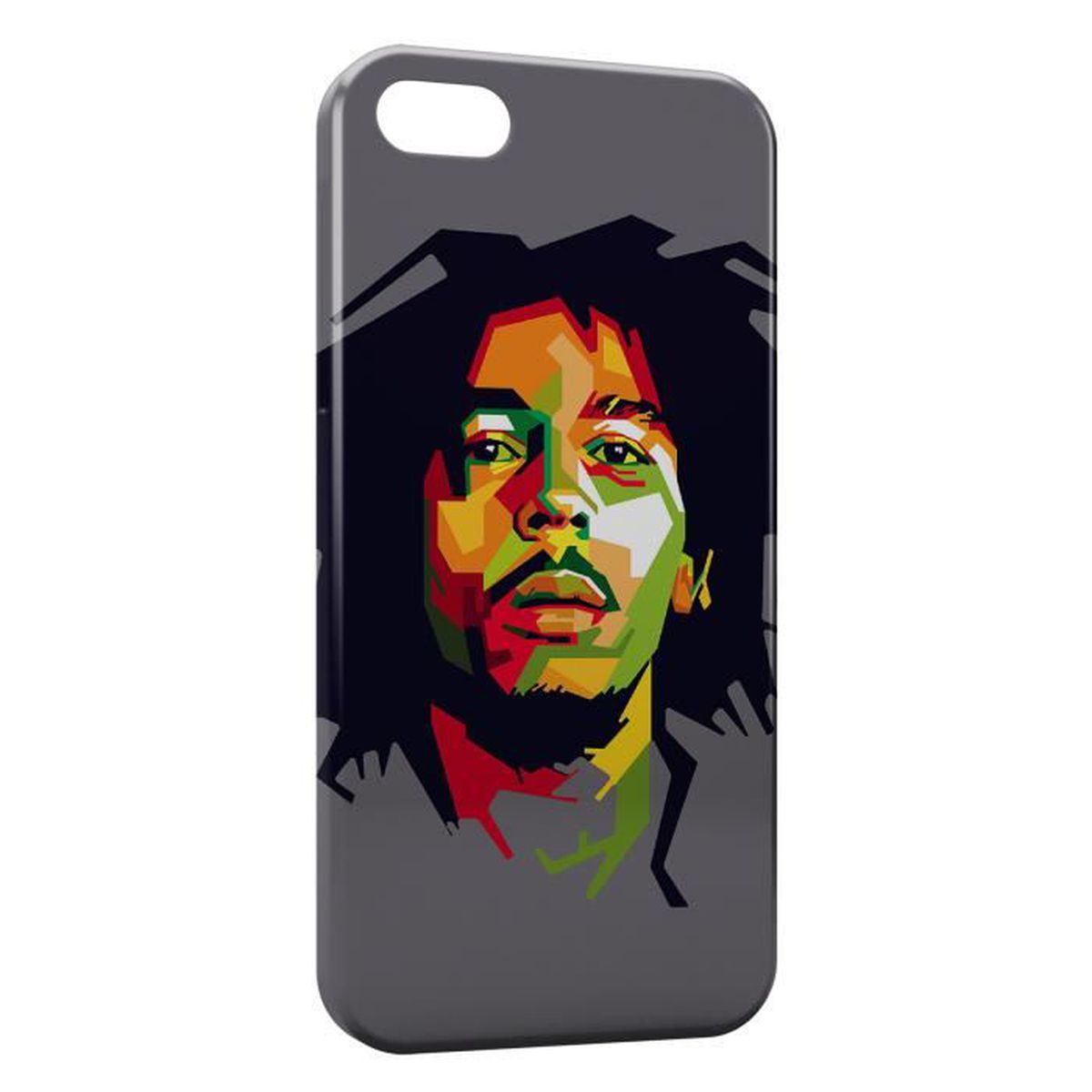 coque iphone 6 bob marley graphic art 2