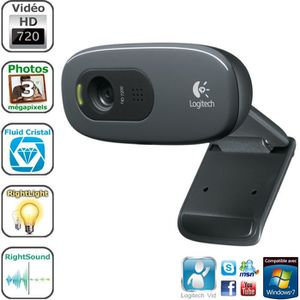 WEBCAM Logitech webcam HD - C270
