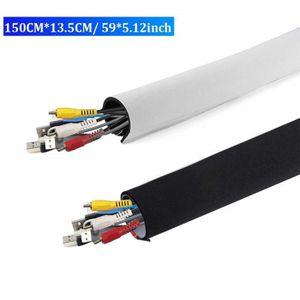 CACHE PRISES - CÂBLES Câble Rangement du Néoprène avec Velcro (149cm*13.