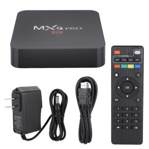 BOX MULTIMEDIA Smart TV Box WIFI TV Box Set-Top Box Lecteur multi