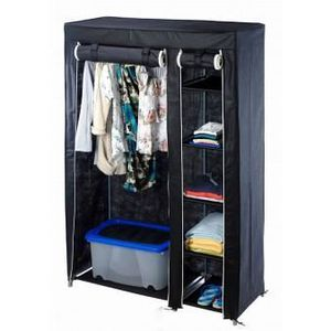 garde robe achat vente armoire de chambre garde robe cdiscount. Black Bedroom Furniture Sets. Home Design Ideas