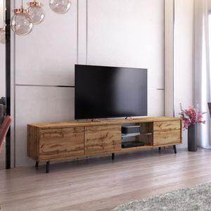 MEUBLE TV Meuble tv / Meuble de salon - GLAM - 175 cm - chên