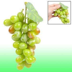 Sourcingmap/® D/écoration Table Bureau Plastique Famille Artificielle Simulation Fruits Raisins 5 pcs