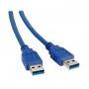 CÂBLE INFORMATIQUE Cable usb v3 a male vers a male 1.8m