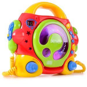 RADIO CD ENFANT Chaîne hi-fi fonction karaoké enfants lecteur lase