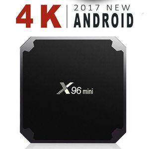 BOX MULTIMEDIA  X96mini Smart TV Box Android 7.1.2 - 2Go/16Go - A