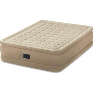 LIT GONFLABLE - AIRBED INTEX Matelas ULTRA PLUSH FIBER TECH 152x203 - Gon