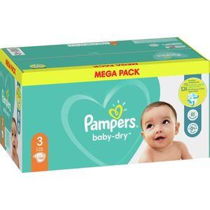 COUCHE Pampers Baby-Dry Taille3, 102Couches