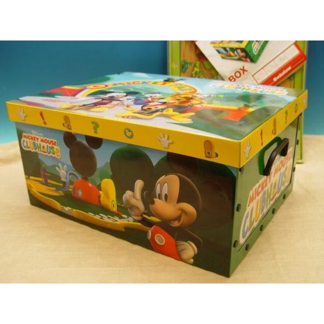 bo te de rangement pliante disney mickey achat vente. Black Bedroom Furniture Sets. Home Design Ideas