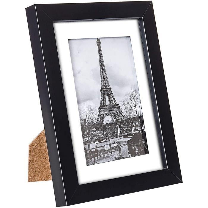 Cadre Photo Bois Noir 10x15 cm ( 4X6 inch )
