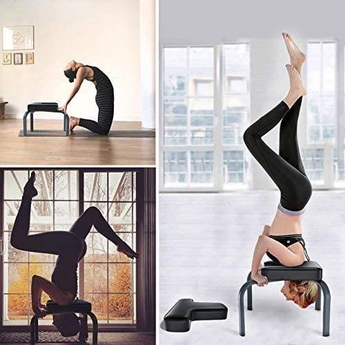 NOUVEAU Tabouret Chaise de d'Inversion Tabouret, Banc Yoga Chaise de Fitness d'Exercice