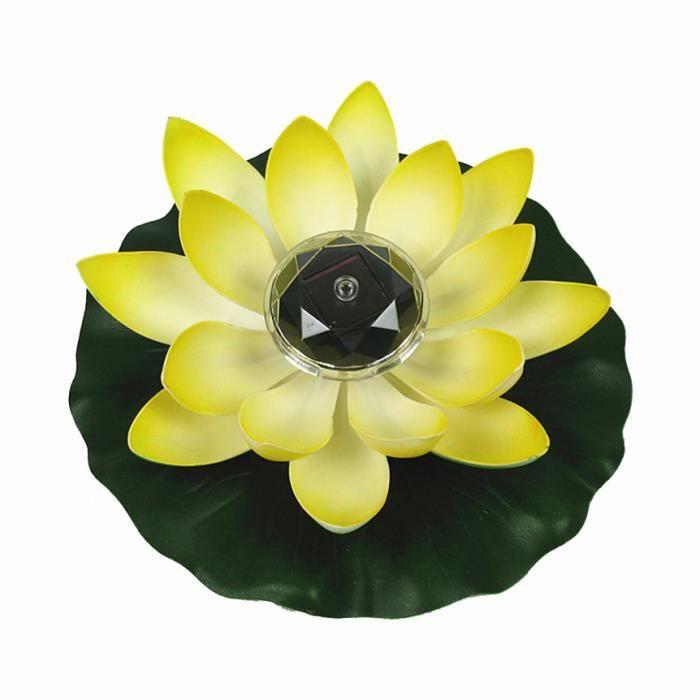 AR2849 LED à alimentation solaire fleur lumière flottant fontaine étang jardin piscine lampe lumières décoratives éclairage paysage