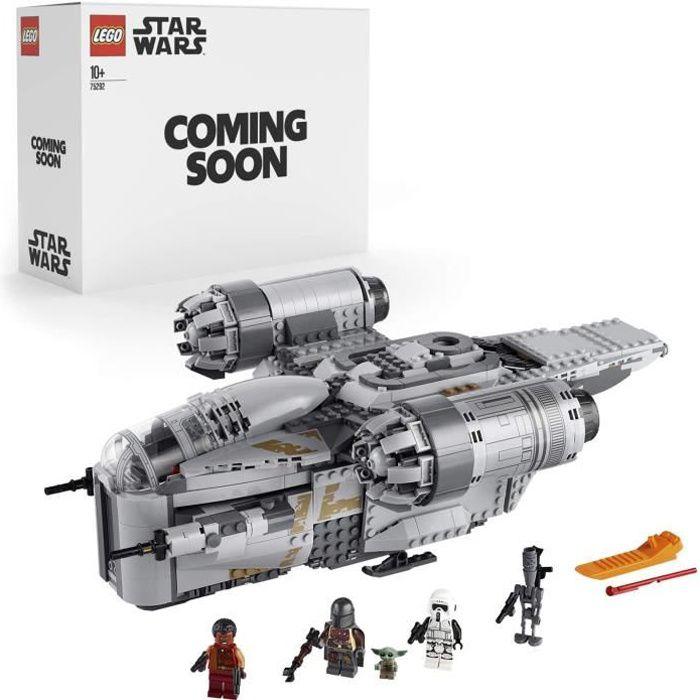 Jeux de construction LEGO® Star Wars : The Mandalorian Le Razor Crest, Jeu de construction pour les enfants et fans de l 53004