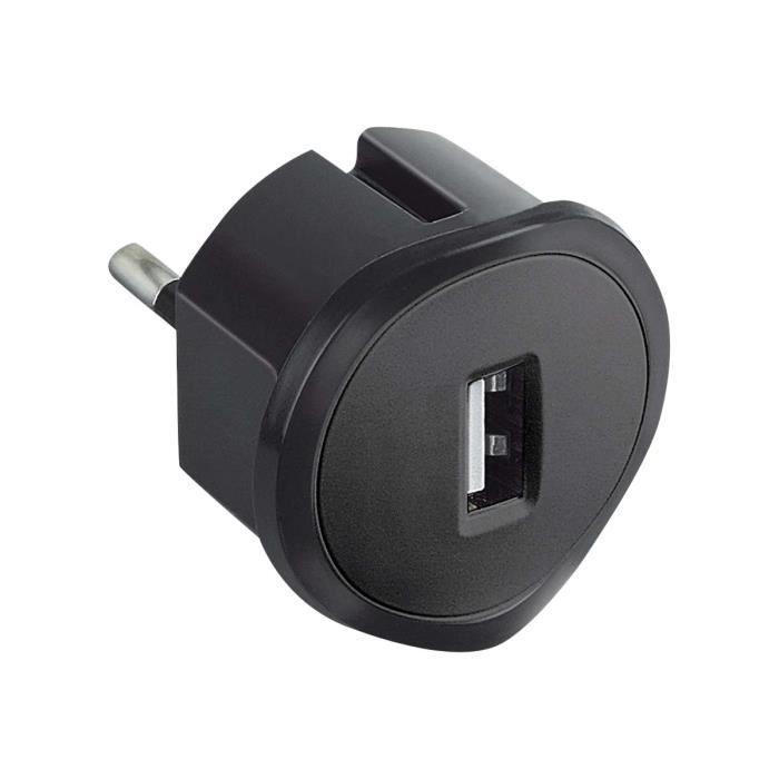 Prise Usb 1.5A 5 V adaptor black blister