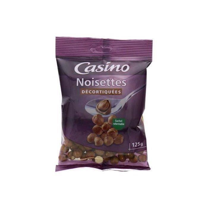 CASINO Noisettes Décortiquées - 125 g