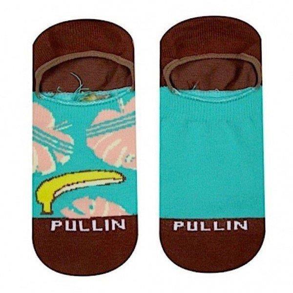 PULL IN Lot de 2 paires de Socquettes Adulte Coton LIBIDO Vert Marron
