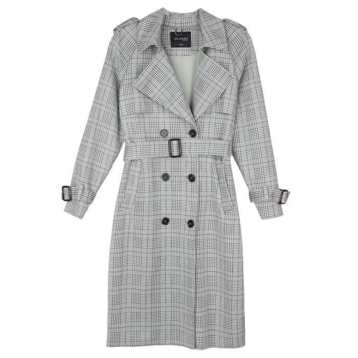 Top Secret Trench Coat Femme SPZ0495GB