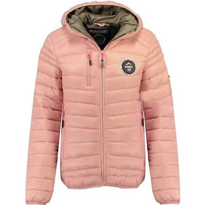 Doudoune Femme Geographical Norway Bambway New Rose poudre
