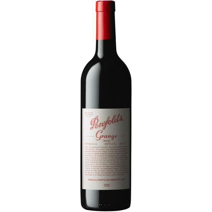 Vin du monde - Penfolds Grange Shiraz - Bouteille 75cl Rouge