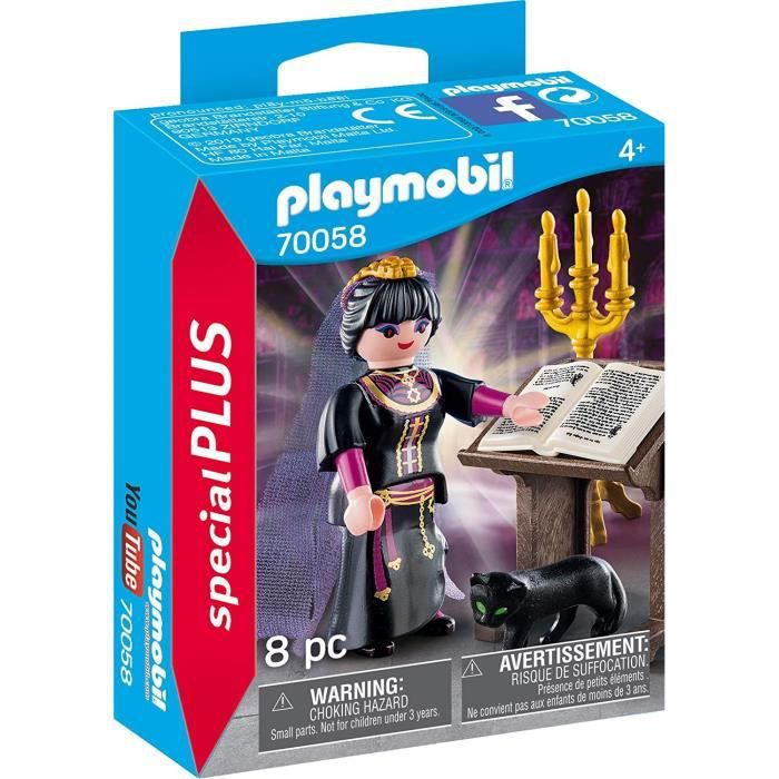 PLAYMOBIL 70058 - Magic - Spécial Plus - Magicienne et grimoire