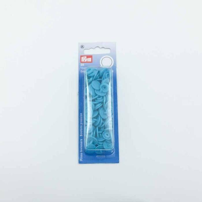 Bouton pression -Color Snaps - bleu