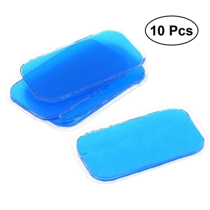 10 pièces Gel pratique Fitness Durable confortable feuille de adhésif corps Fit patchs pour femme adulte