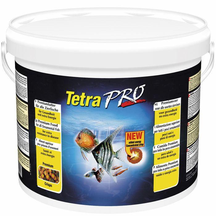 Alimentation Tetra Pro 10 litres pour poissons