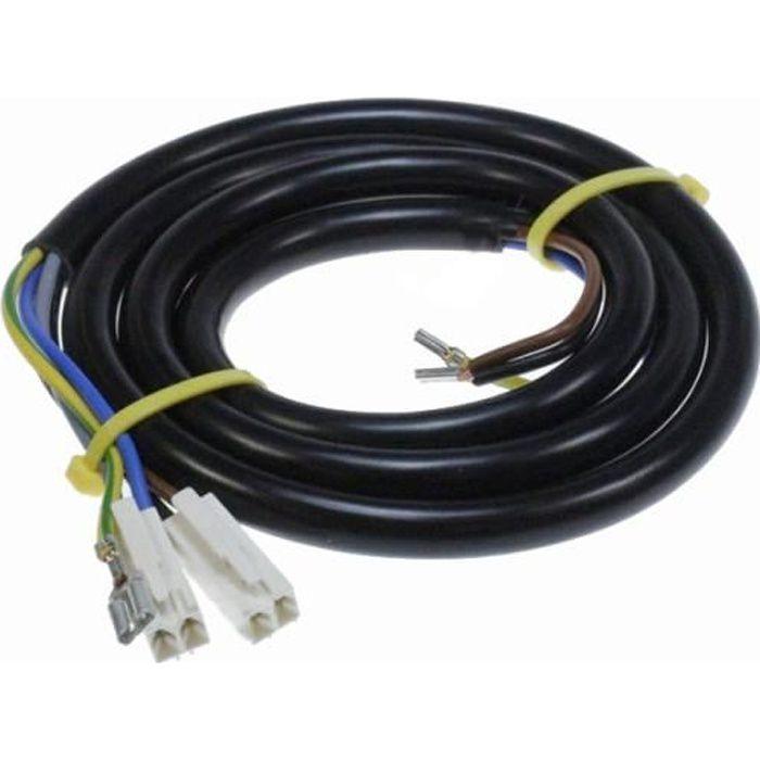 Cable D Alimentation Go 1.20m Ref C00500603 Pour TABLE DE CUISSON WHIRLPOOL