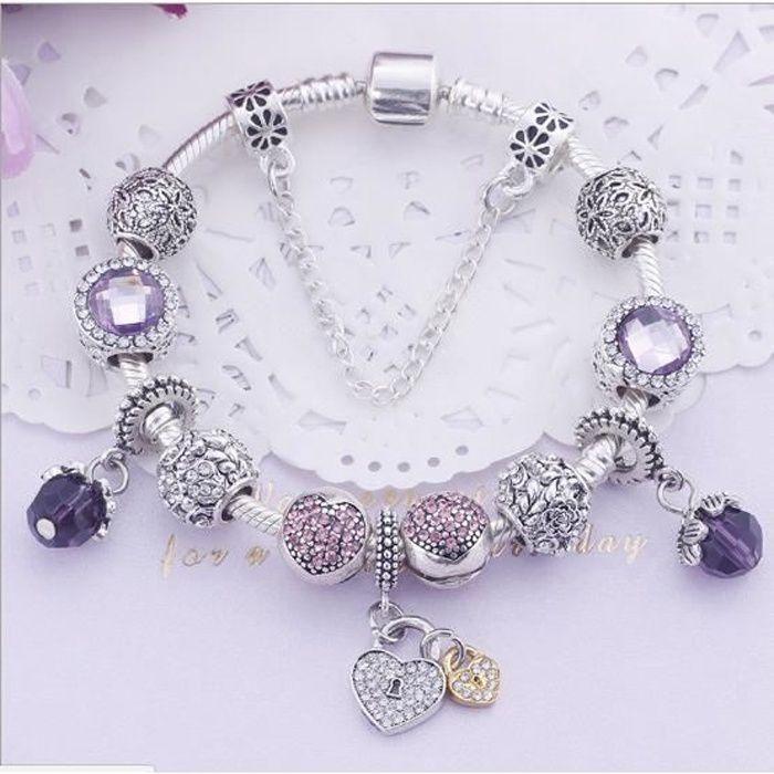 bracelet pandora femme 17 cm