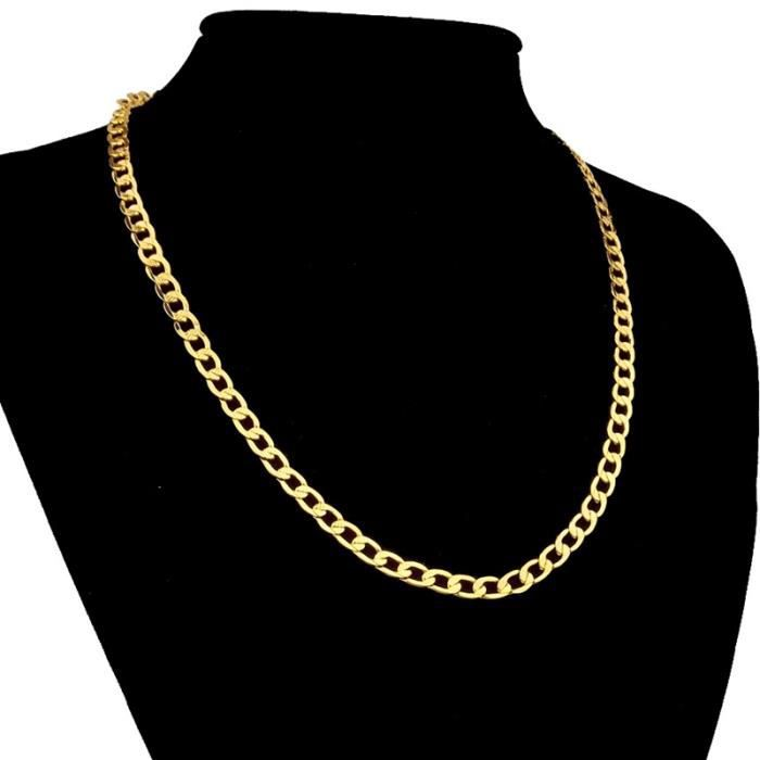 collier homme model