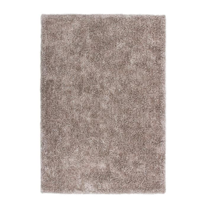 tapis de salon poil long moderne dessin tapis ivoire uni shaggy fait la main beige 200x290 cm. Black Bedroom Furniture Sets. Home Design Ideas