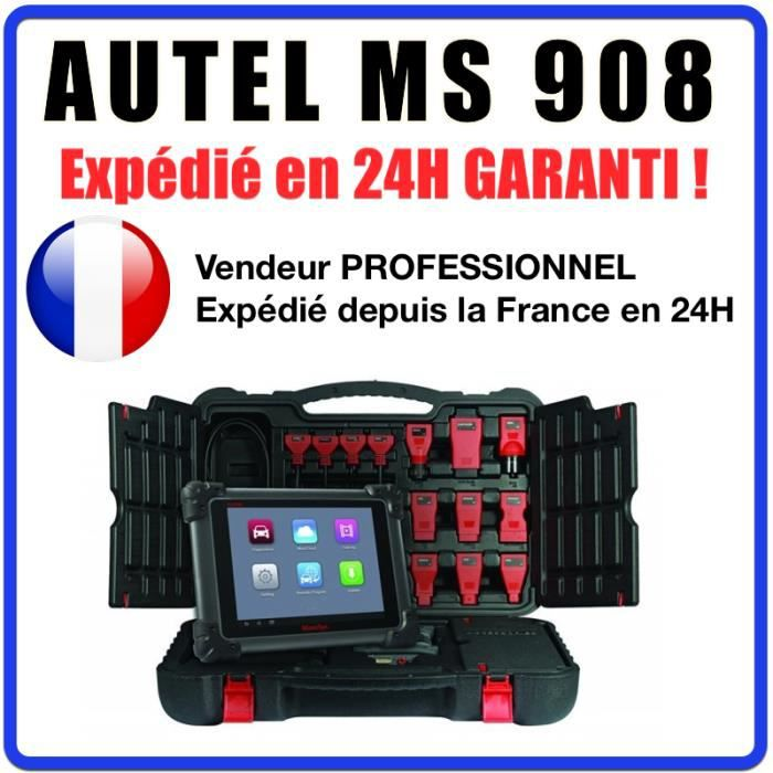 autel maxisys ms908 valise diagnostique multimarques pro. Black Bedroom Furniture Sets. Home Design Ideas