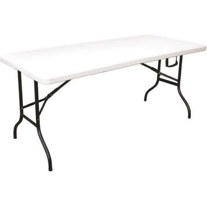 Table pliante 8 personnes 180cm achat vente table de for Table jardin 8 personnes