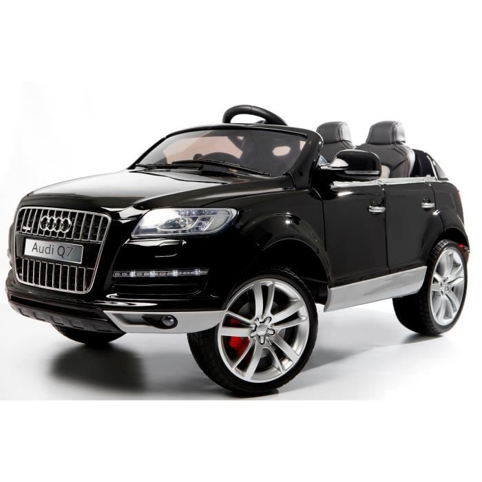 audi q7 luxe noir m tallis e voiture lectrique e achat vente voiture enfant cdiscount. Black Bedroom Furniture Sets. Home Design Ideas