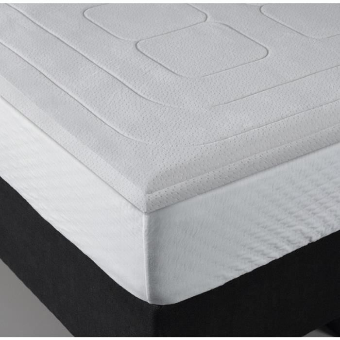 surmatelas bultex confort m moire de forme 140x190 achat vente sur matelas cdiscount. Black Bedroom Furniture Sets. Home Design Ideas