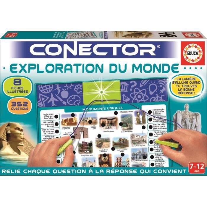 JEU D'APPRENTISSAGE EDUCA Conector Exploration Du Monde