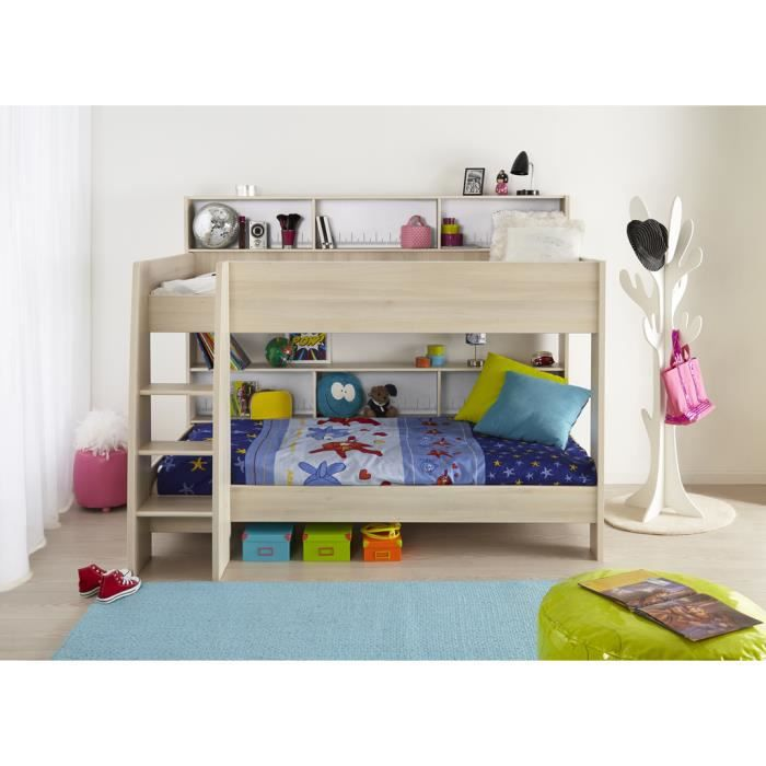 Lits superpos s lucky achat vente lit mezzanine lits superpos s lucky c - Lits superposes cdiscount ...