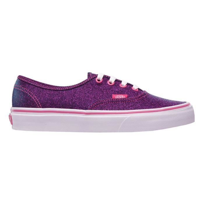 AUTHENTIC shimmer magenta VANS