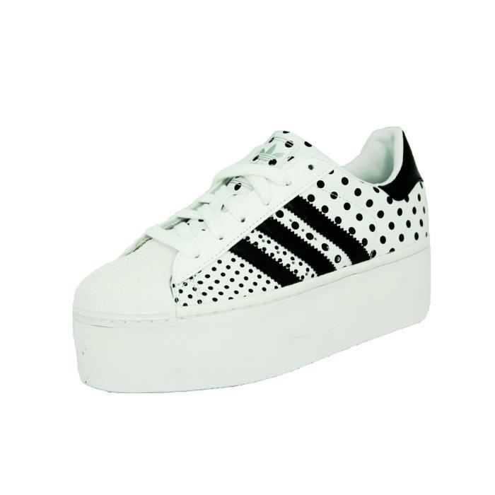 Adidas SUPERSTAR 2 PLATFORM UP EF Chaussures Mode Blanc Blanc ...