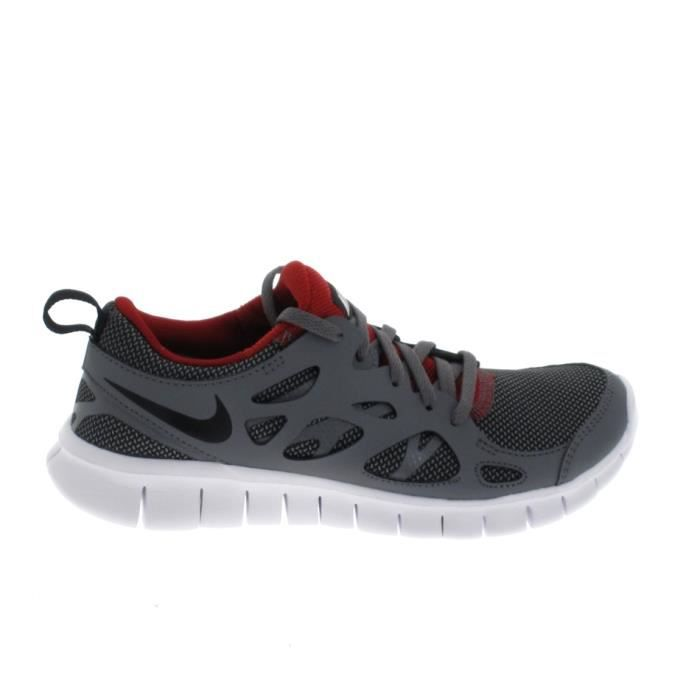 BASKET NIKE Free Run 2 Jr Gris Noir