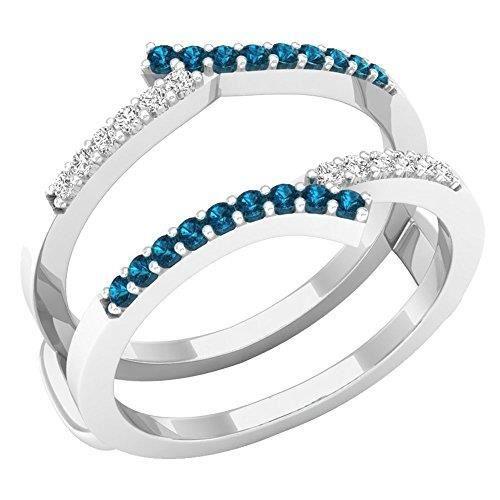 ALLIANCE - SOLITAIRE Bague Femme Diamants 0.25 ct  18 ct 750-1000 Or Bl