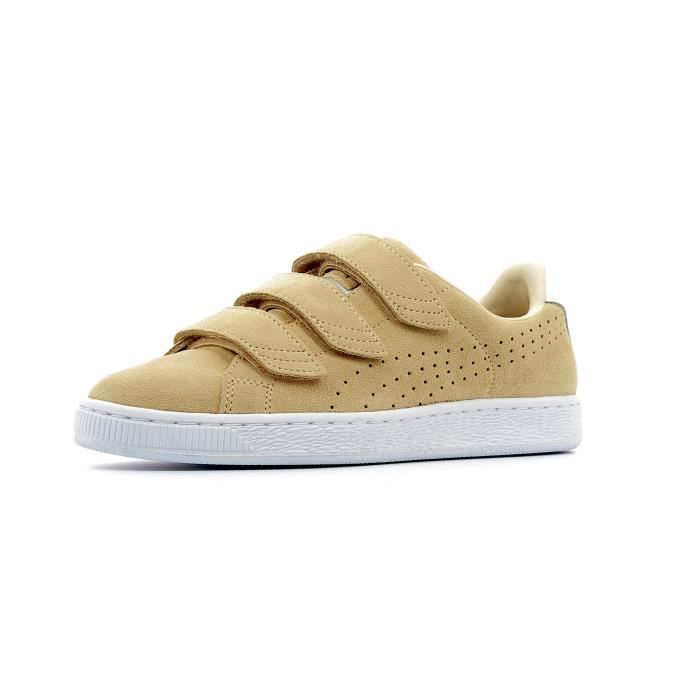 puma basket marron