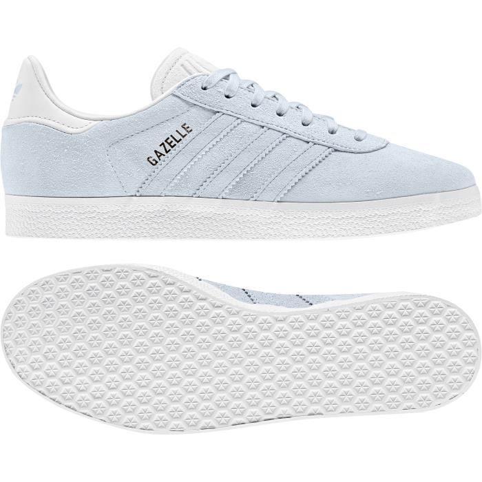 Chaussures de lifestyle femme adidas Gazelle W Beige/beige/blanc ...