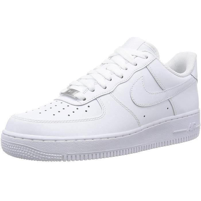 air force 1 blanc et gris
