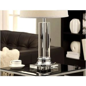 lampe a poser cristal achat vente lampe a poser. Black Bedroom Furniture Sets. Home Design Ideas