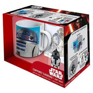 BOL Coffret cadeau Star Wars : Mug, porte-clés et stic