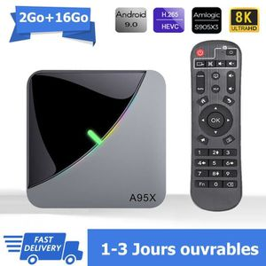 BOX MULTIMEDIA Android tv box android 9.0 A95XF3AIR Smart TV BOX